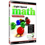 Light Speed Math: Fractions and Decimals by GOLDHIL HOME MEDIA INT L
