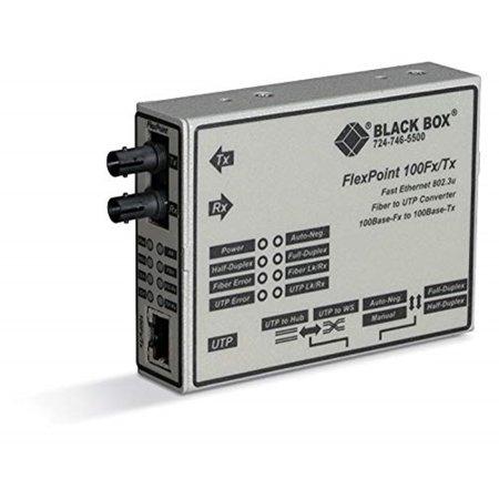 Black Box Network Services LMC213A-SMSC-R2 FlexPoint Fast Ethernet Media Converter 1 x SC 1 x RJ-45 100 GB FX 100 GB TX External, 2 (Windows 2008 R2 Standard Service Pack 1)