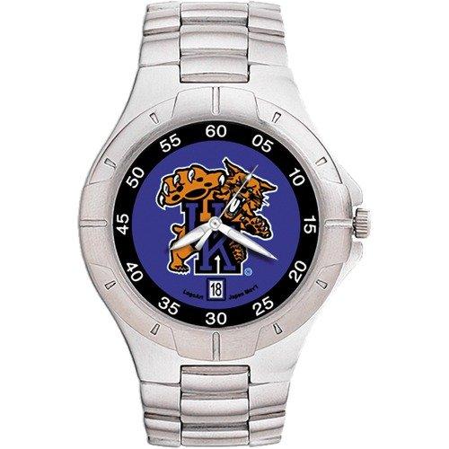 LogoArt NCAA Men's Pro II Bracelet Watch with Full Color Team Logo Dial