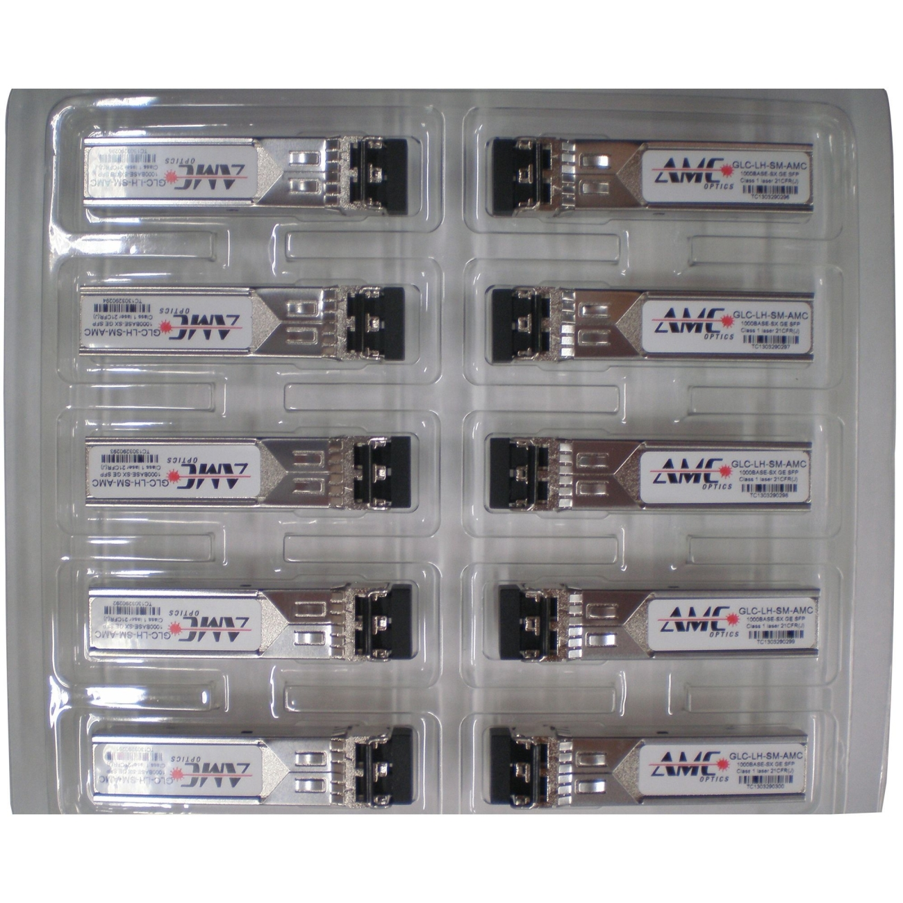 Amc Optics GLC-LH-SM-10PK-AMC 10pk Glc-lh-sm Compatible Cpnt Buy 9pcs Get 1 Free