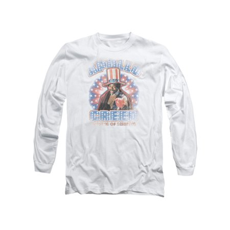 Rocky Apollo Creed Master Of Disaster Movie Adult Long Sleeve T-Shirt](Appolo Creed)