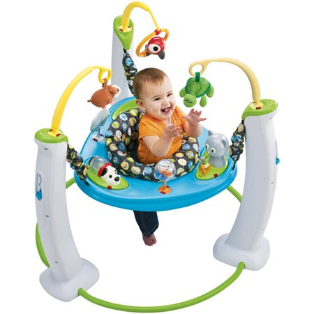 Evenflo ExerSaucer Jump and Learn Jumper, Jungle Quest ...