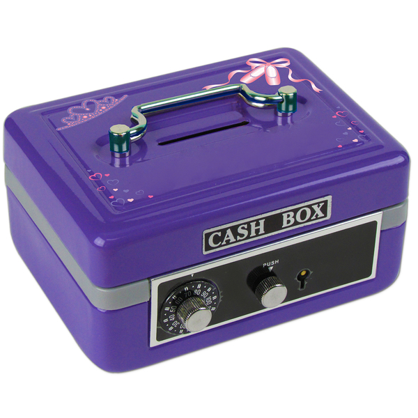 Personalized Ballet Princess Cash Box