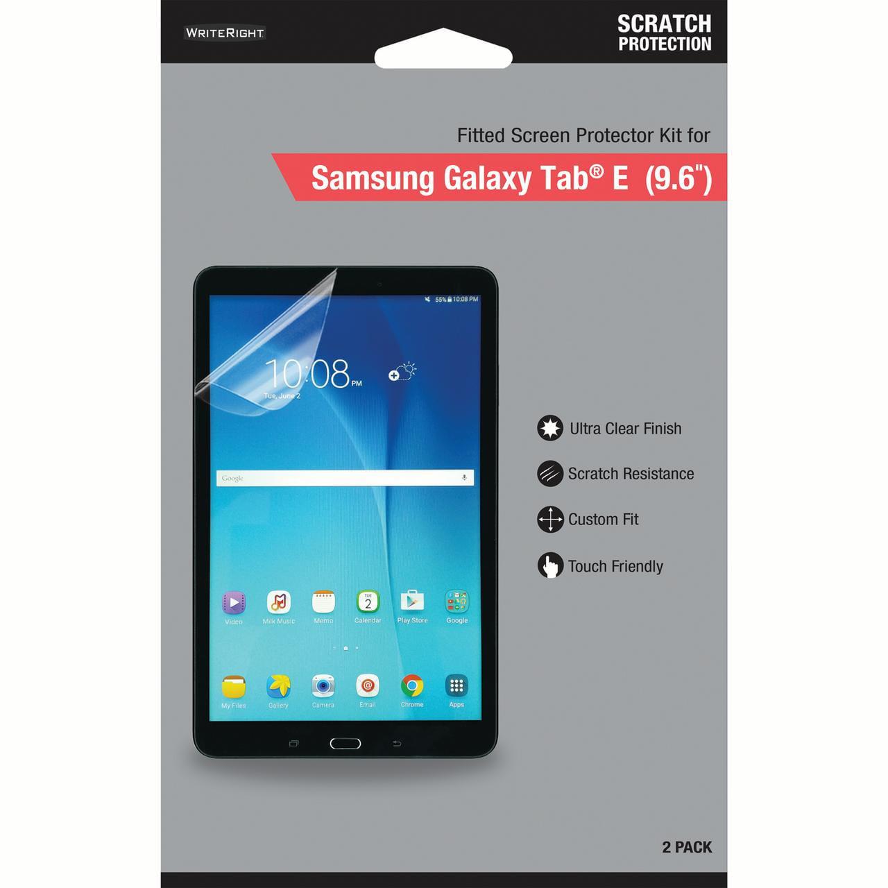 2X Samsung Galaxy Tab E NOOK 9.6 Tab E 9.6 Anti-Glare Matte Screen Protector