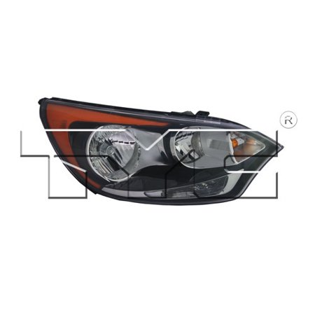 Rio Skagit Short Head - Go-Parts » 2012 - 2016 Kia Rio Front Headlight Headlamp Assembly Front Housing / Lens / Cover - Right (Passenger) Side - (Hatchback + 4 Door; Hatchback) 92102 1W340 KI2503154 Replacement For Kia)