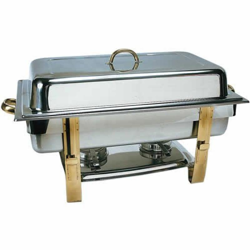 Update International DC-6N) 8 Qt Stainless Steel Oblong G...