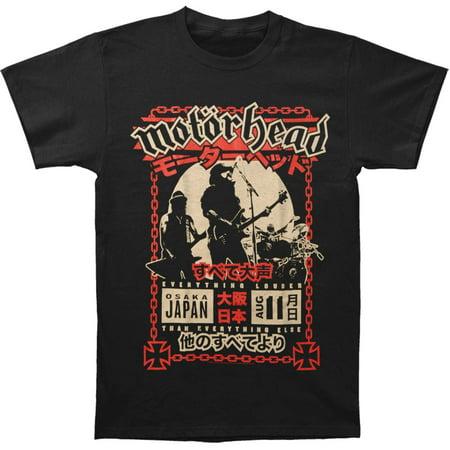 Motorhead - Motorhead Men s Lound In Osaka T-shirt Black - Walmart.com 9a48cfc9dc