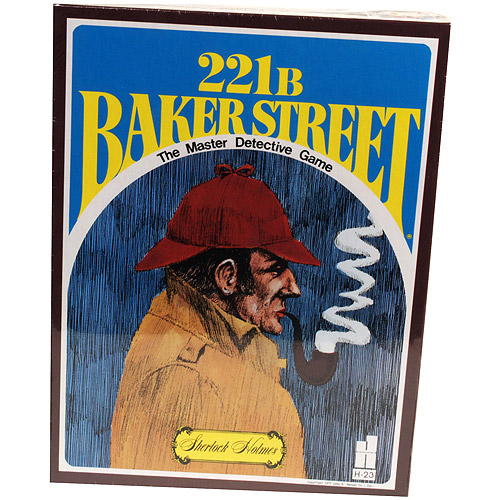 Classic Games Collection 221 B Baker Street Mystery Game