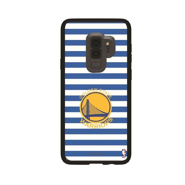 Speck GAL-S9P-BK-PRE-GST-D109 Black Galaxy S9 Plus Presidio Series Case with Golden State Warriors Stripes Design - image 1 of 1