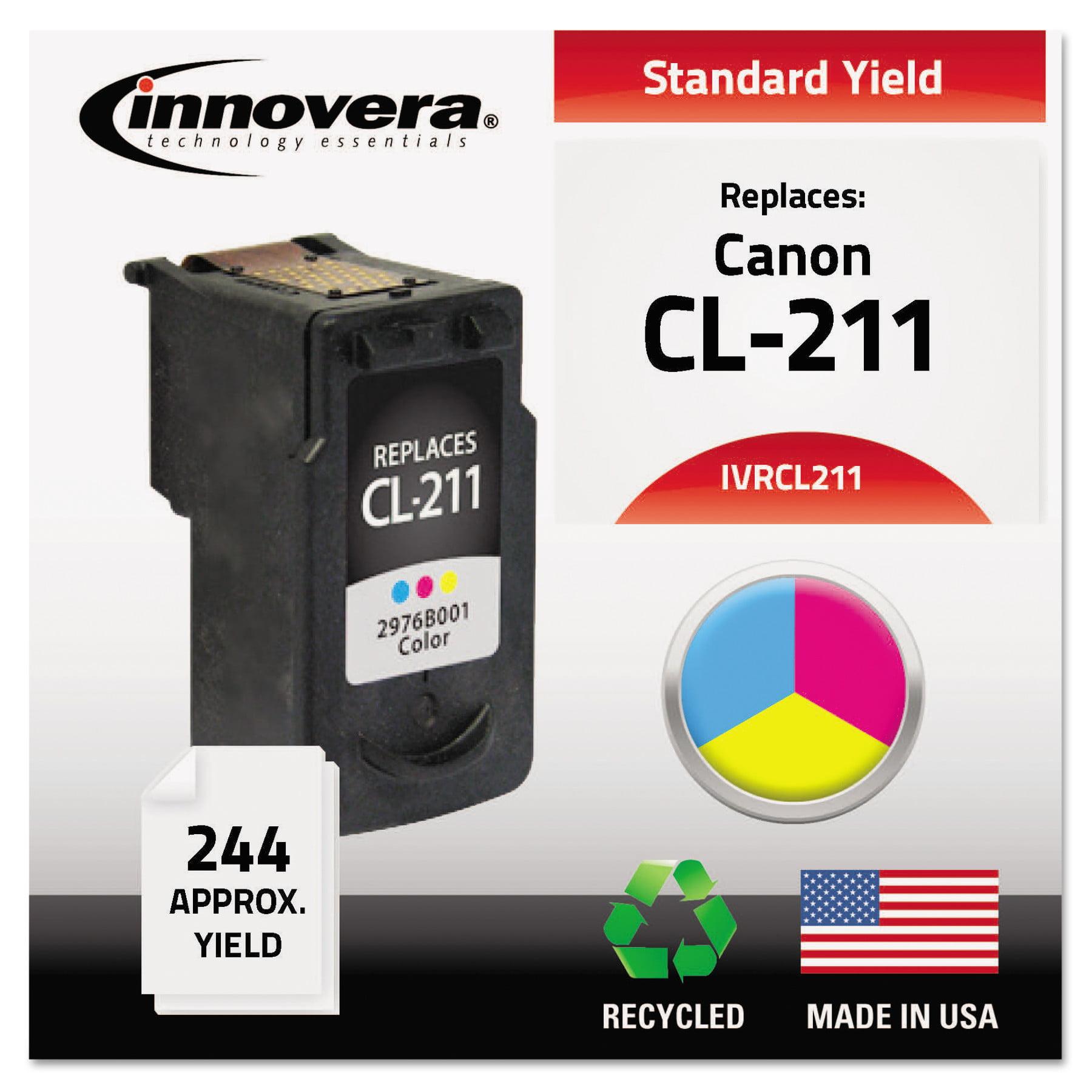 Innovera Remanufactured 2976B001 (CL-211) Ink, Tri-Color
