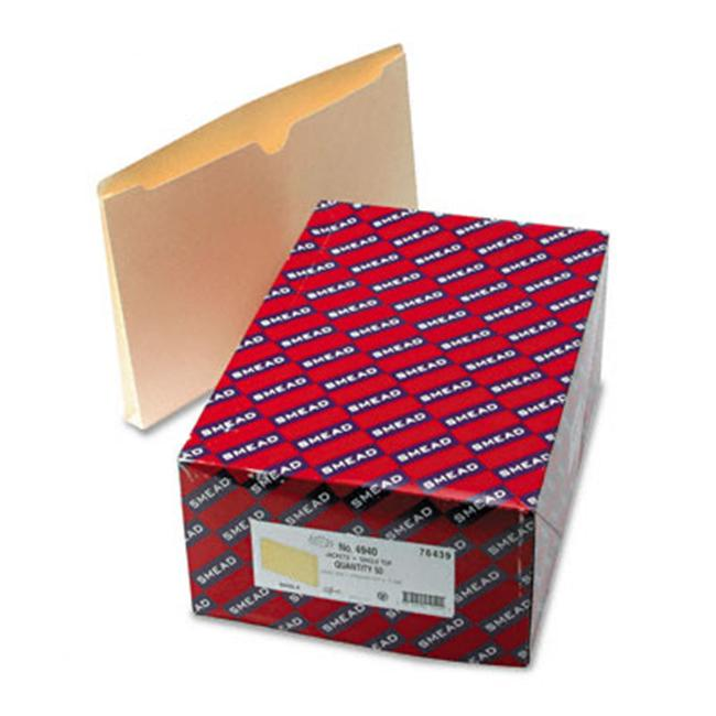 Smead 76439 File Jackets with 1   Expansion  Legal 11 Pt.  Manila  50/Bx