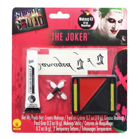 Suicide Squad: Joker Make Up Kit, Halloween Accessory for $<!---->
