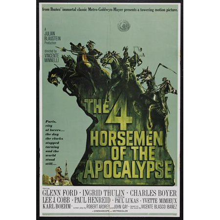 The Four Horsemen of the Apocalypse - movie POSTER (Style B) (27