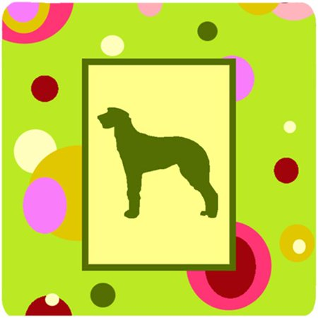 Scottish Deerhound Foam Coasters - Set 4 - image 1 de 1