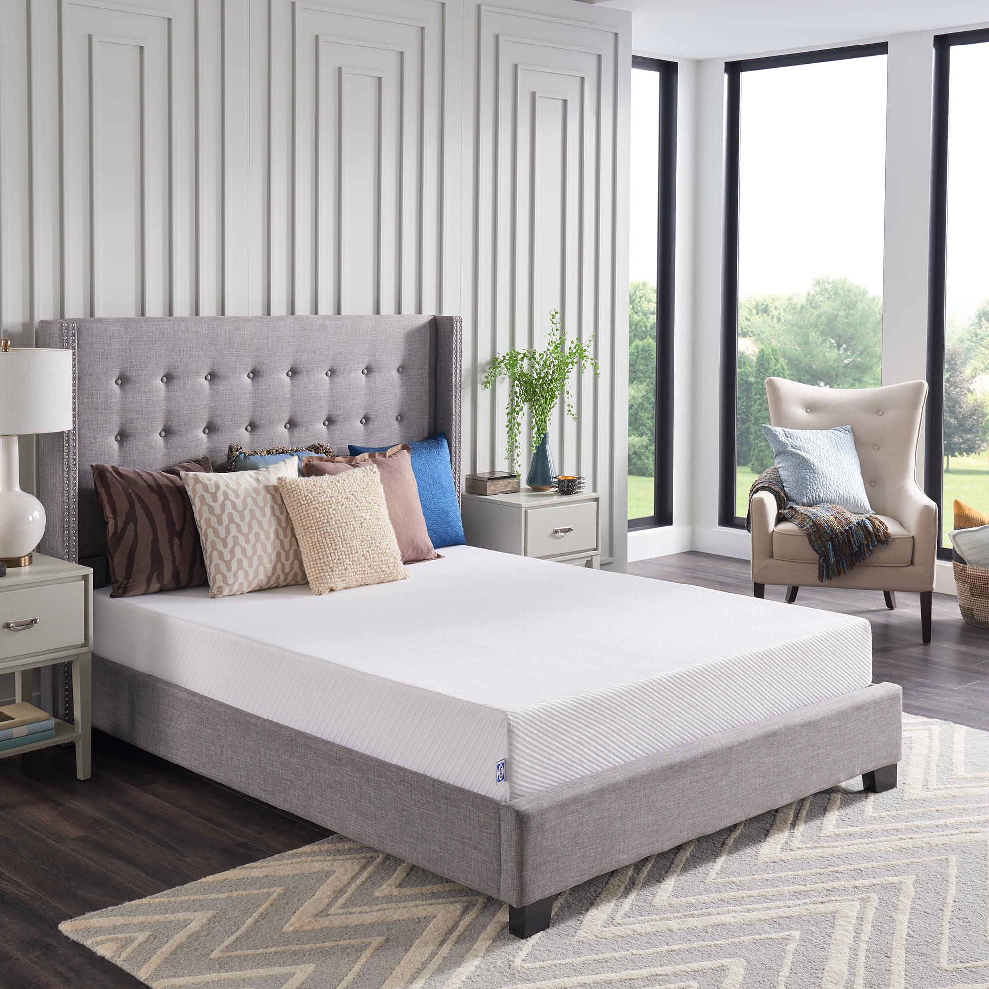 Sealy 8 Medium Firm Memory Foam Bed In