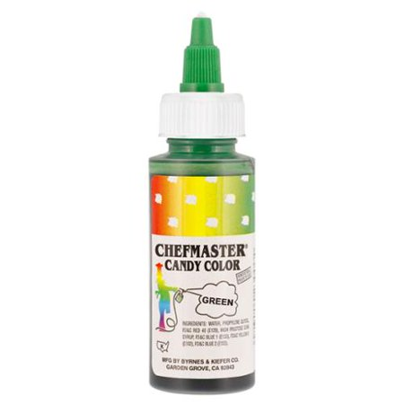 Chefmaster by US Cake Supply 2-Ounce Liquid Candy Food Color Color