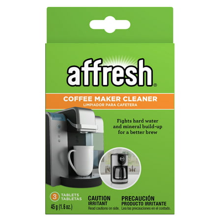 Affresh Coffeemaker Cleaner 3 Count Walmart Com