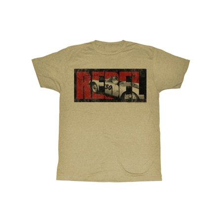 - James Dean Rebel Adult T-Shirt Tee