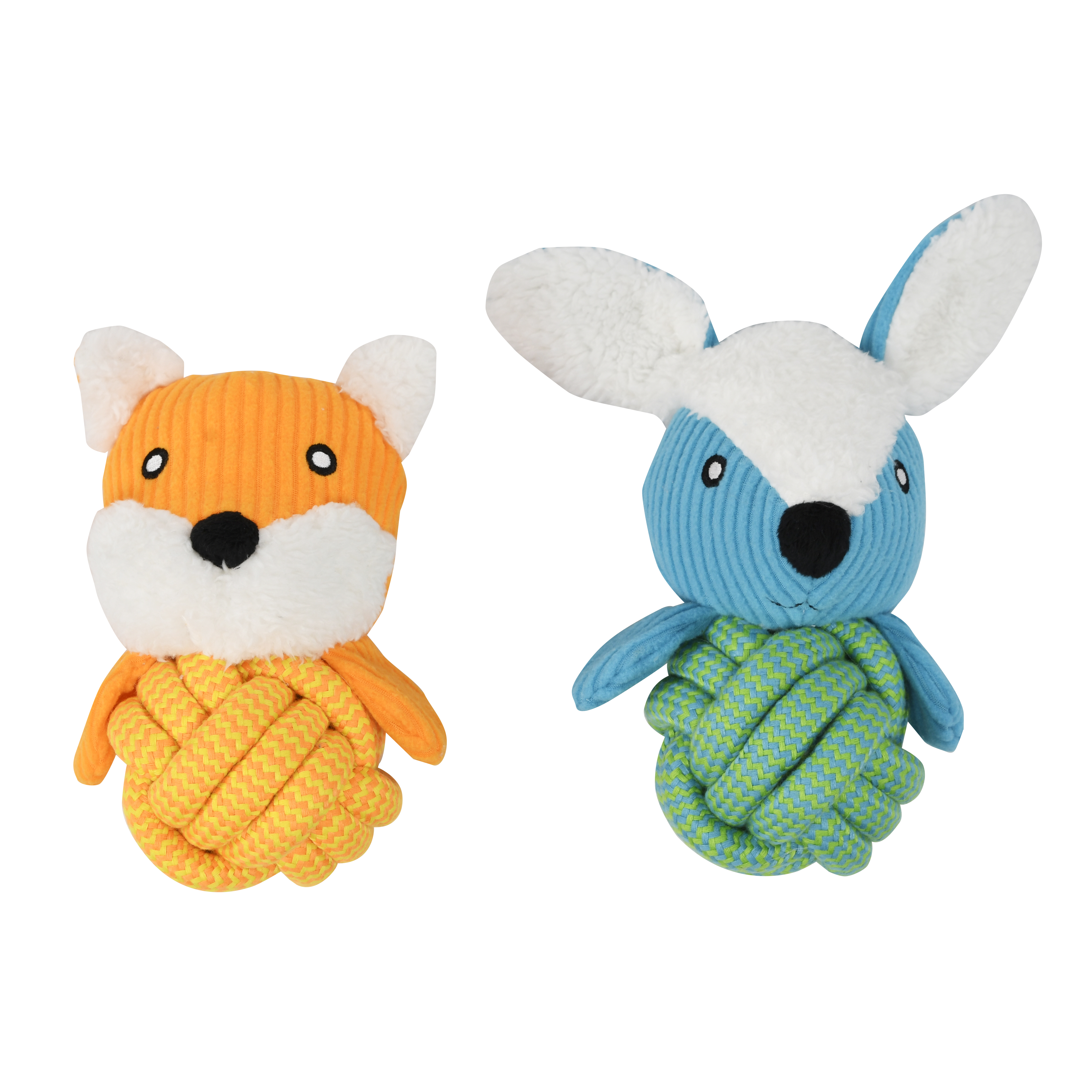 Vibrant Life Plush Toy with Rope Ball