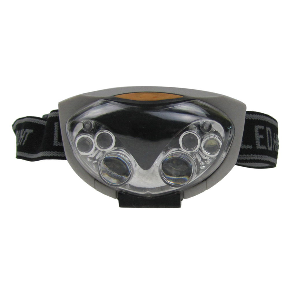 Hight Quality 3 Modes Bright 6 LED Head Lamp Light Torch Headlamp Headlight