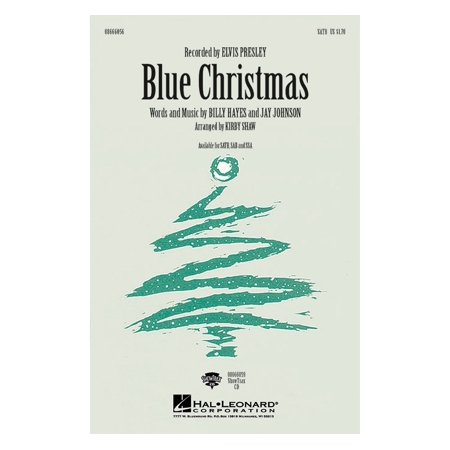 Hal Leonard Blue Christmas Showtrax Cd By Elvis Presley Arranged By Kirby Shaw