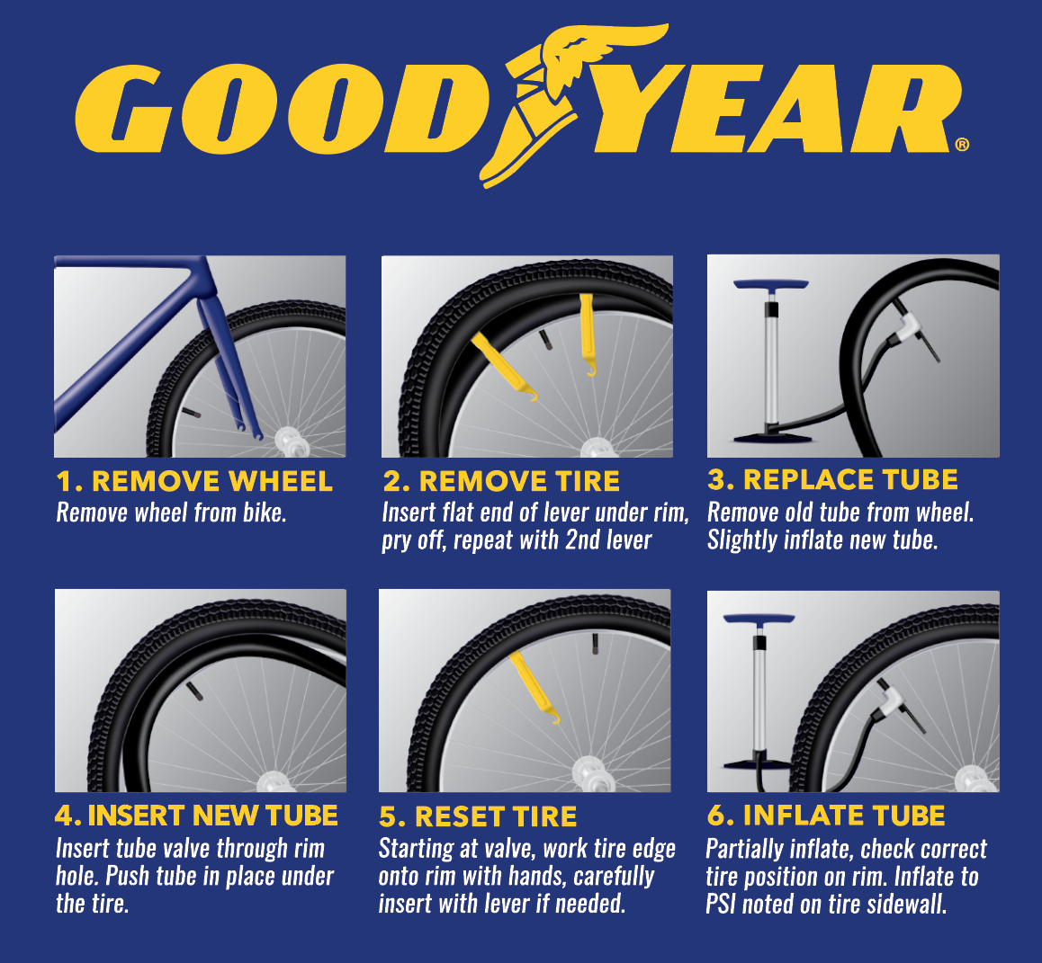 "2 16/"" 1.75-2.125 Bike Inner Tube Bicycle Rubber Tire Interior Schrader Valve"