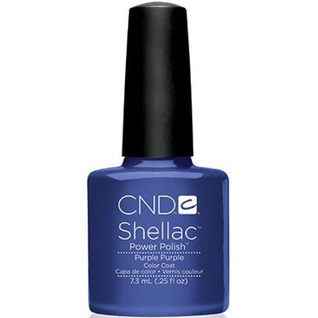 CND Creative Nail Design SHELLAC Gel Polish .25oz/7.3mL - Purple Purple - image 1 of 1
