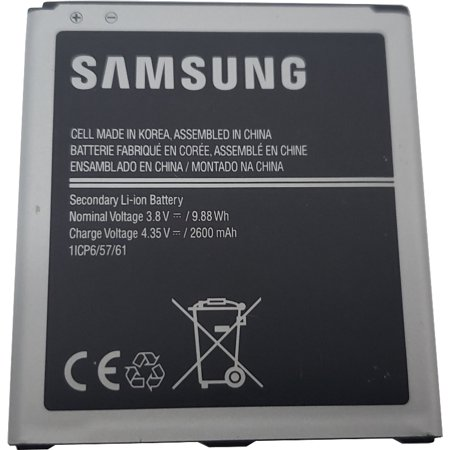 Original 2600mAh 3.8v Samsung Battery EB-BG530CBU for Samsung Galaxy Grand Prime, J3, J5 2016 Models SM-G530 - Walmart.com