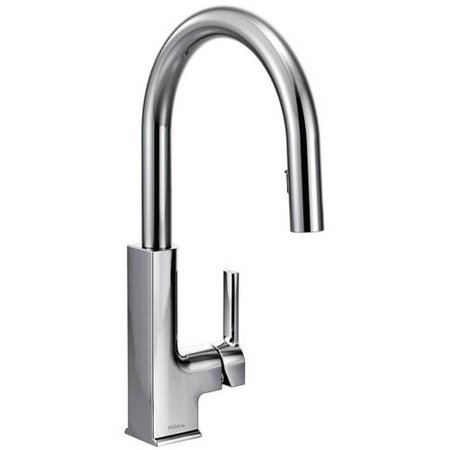 Moen S72308SRS STo Single Handle Kitchen Faucet With Pullout Spray Available