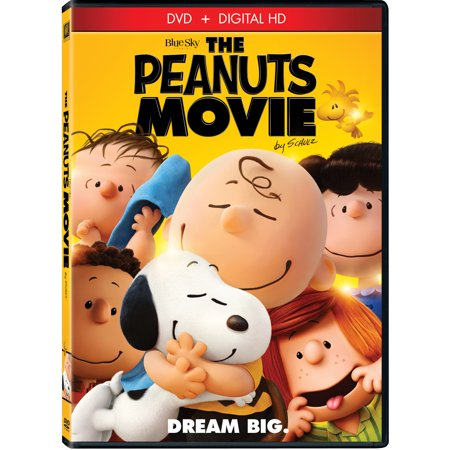 The Peanuts Movie (DVD + Digital - Top Ten Children's Halloween Movies