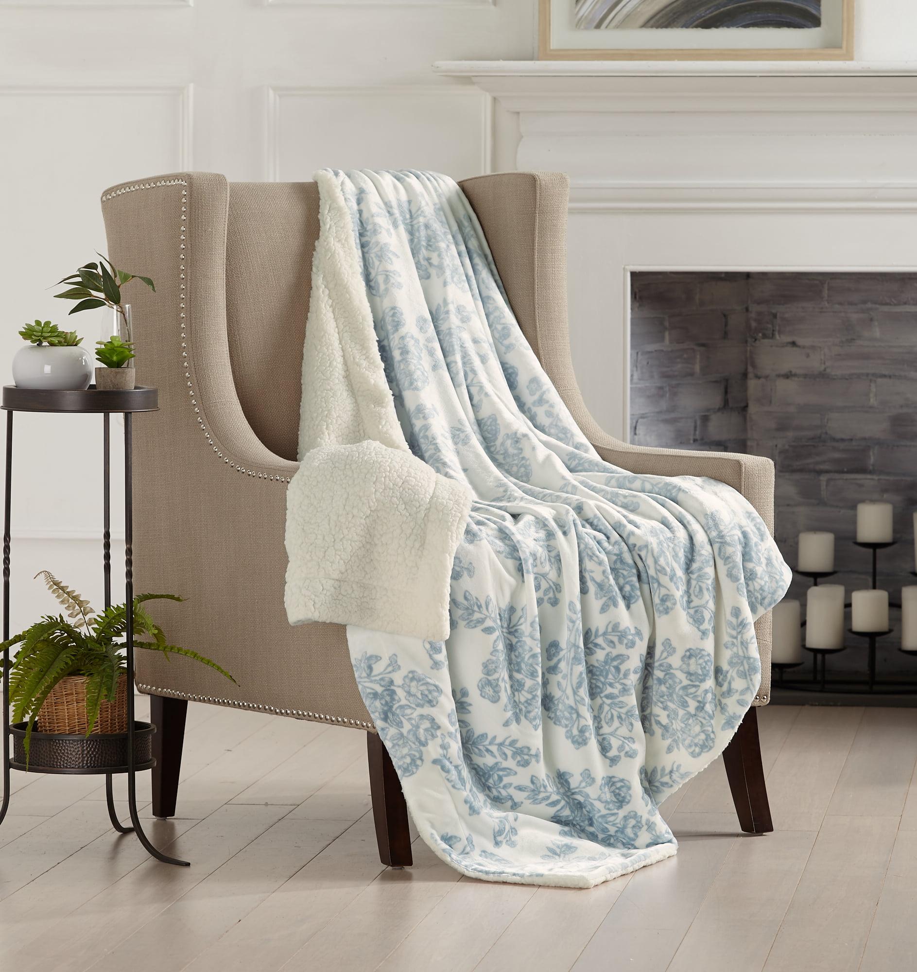Home Fashion Designs Reversible Berber And Sculpted Velvet Plush Bed Blanket Walmart Com Walmart Com