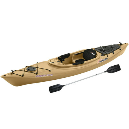 Sun dolphin excursion 12 39 sit in fishing kayak sand for Fishing kayak walmart