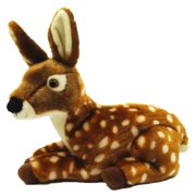 Floppy Spotted Deer Plush Toy