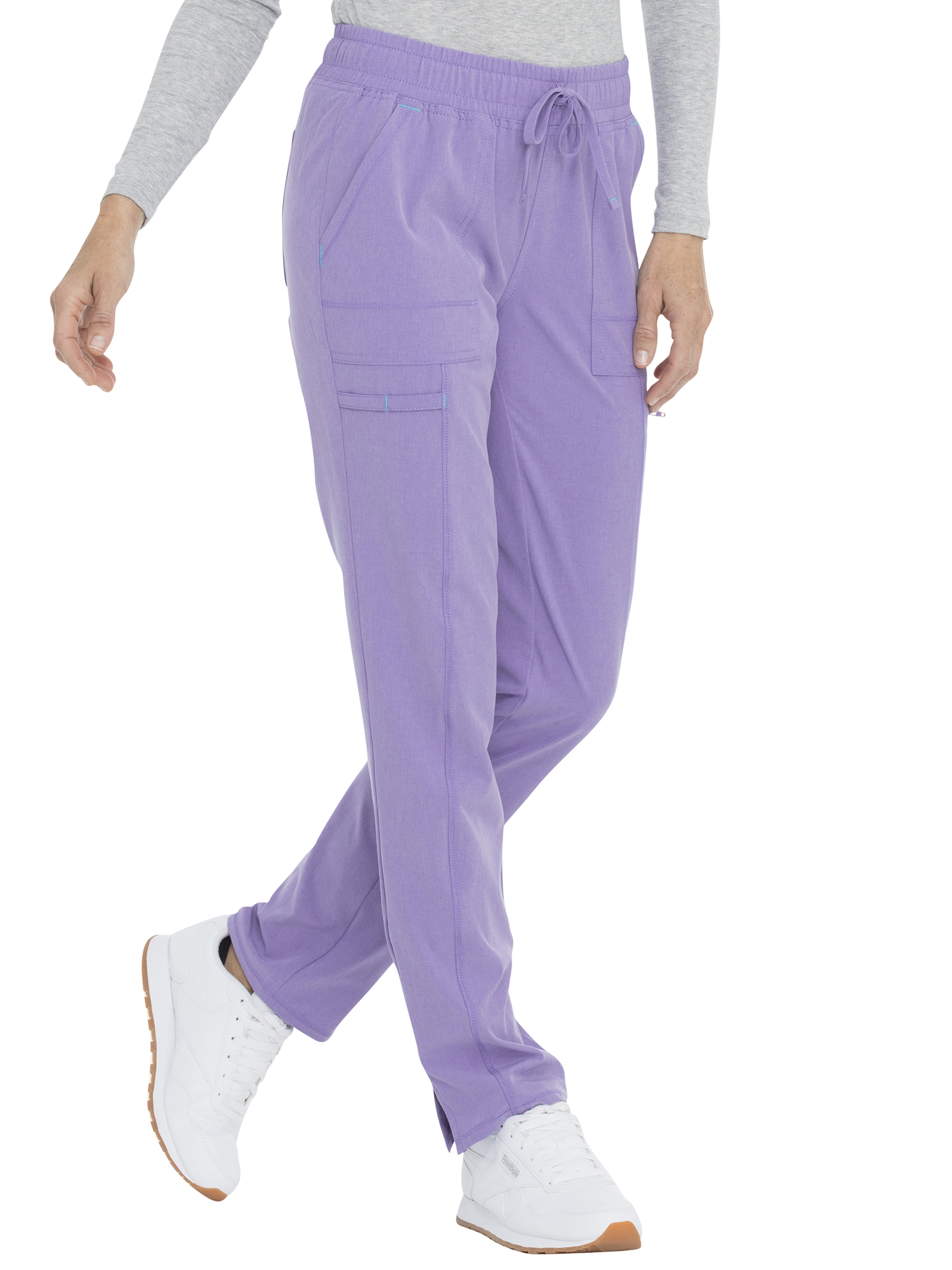 ScrubStar Scrub Pants Performance Yoga Pants Heather Lavender **New**