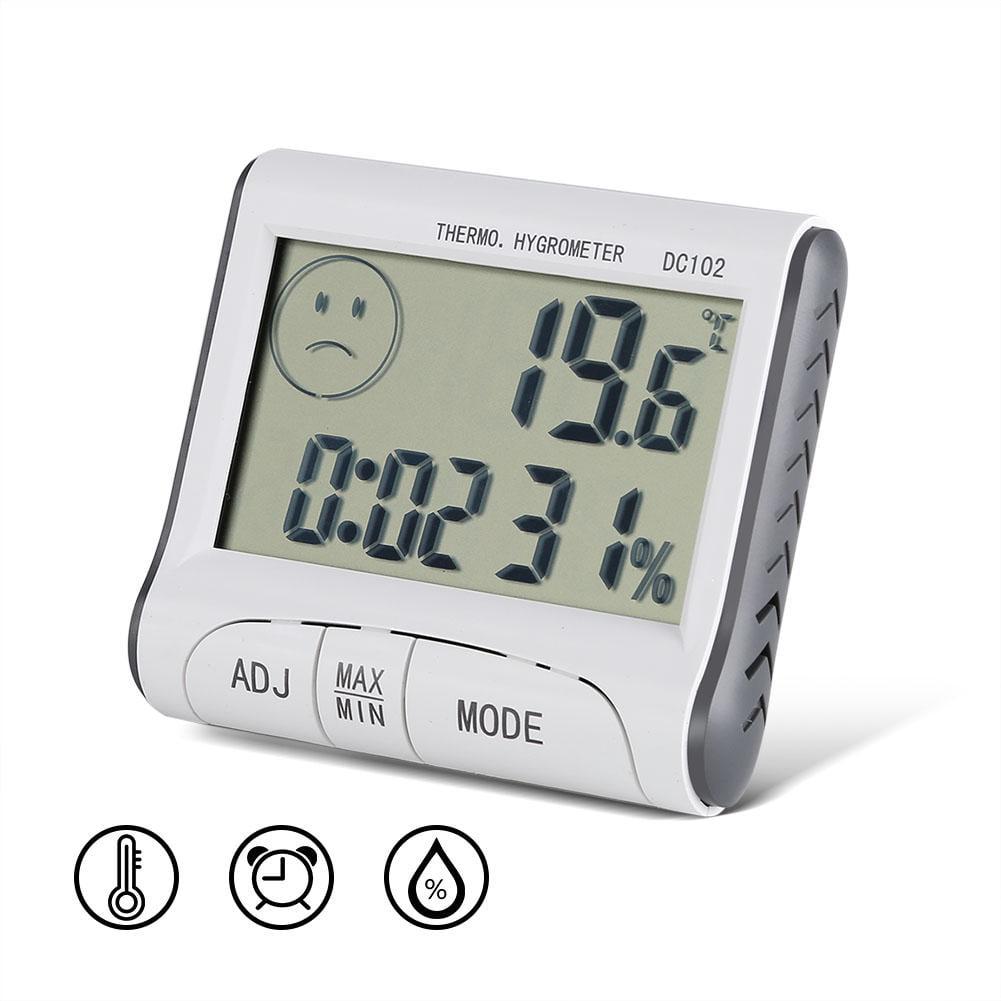 Digital LCD Thermometer Hygrometer  Temperature Humidity Meter Indoor