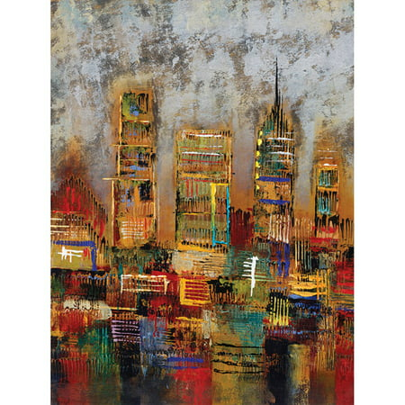 City Lights I   22X28 Canvas Art