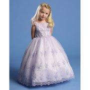 Angels Garment Toddler Girl 3T Lilac Criss Cross Tie Back Dress