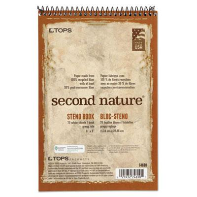TOPS Second Nature Recycled Notebooks