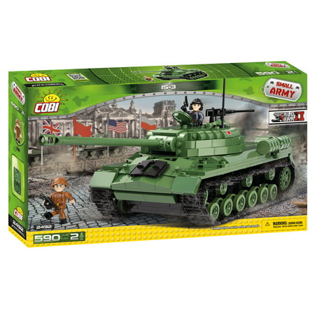 COBI Small Army World War II IS-3 Tank 590 Piece Construction Blocks Building Kit