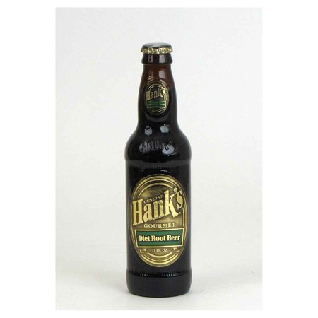 Hanks Gourmet Soda Hanks Root Beer Diet   Diet Root Beer   Case Of 24   12 Fl Oz