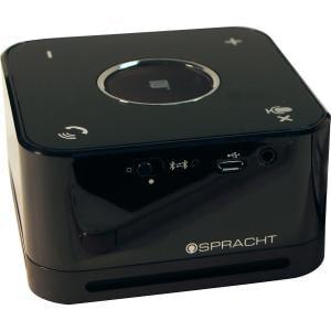 Spracht The Conference Mate - Black - 32.8 ft - Bluetooth - Near Field Communication - USB WRLS SPEAKERPHONE