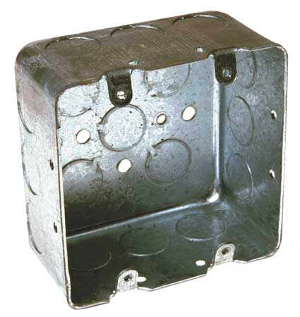 RACO 683 Handy Box,1/2 & 3/4 In Knockout