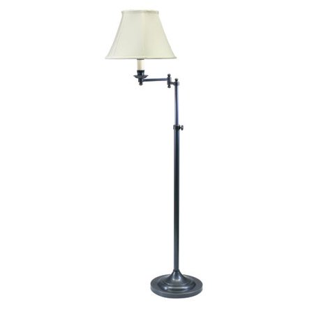 House of troy cl200 club 1 light adjustable swing arm floor lamp house of troy cl200 club 1 light adjustable swing arm floor lamp aloadofball Image collections
