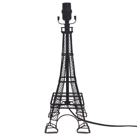 Better Homes and Gardens Eiffel Tower Lamp Base, Black