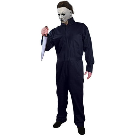 Cheap Michael Jackson Costumes (Boy's Michael Myers Coveralls - Halloween 1978 Child Halloween)