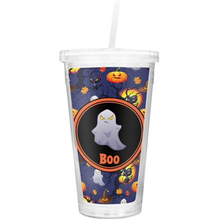 Cool Gear Halloween Tumblers (Halloween Night Double Wall Tumbler with Straw (Personalized), Customizing Instructions: YOU WILL RECEIVE AN EMAIL WITH A LINK TO DESIGN YOUR PRODUCT.., By RNK)
