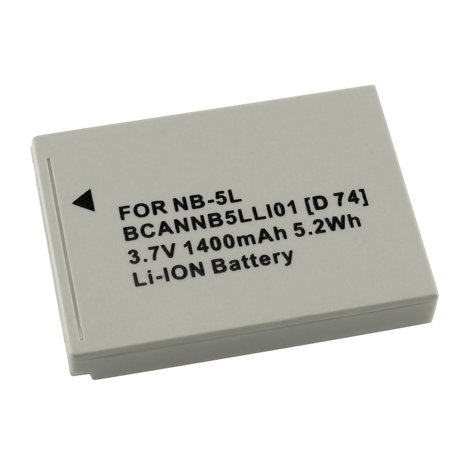 Blackjack Li Ion Battery - Insten Replacement Canon NB 5L Compatible Li Ion Battery From Insten