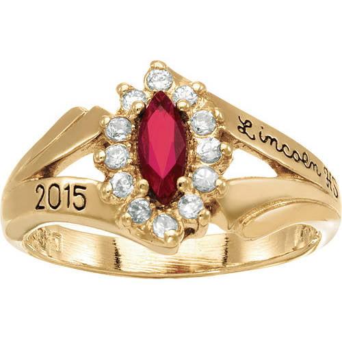 keepsake s marquis fashion class ring walmart