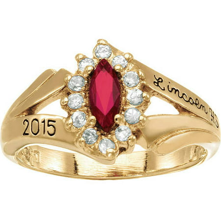 Keepsake Girls Marquis Fashion Class Ring