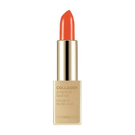 The Face Shop Collagen Ampoule Lipstick, 10 Orange
